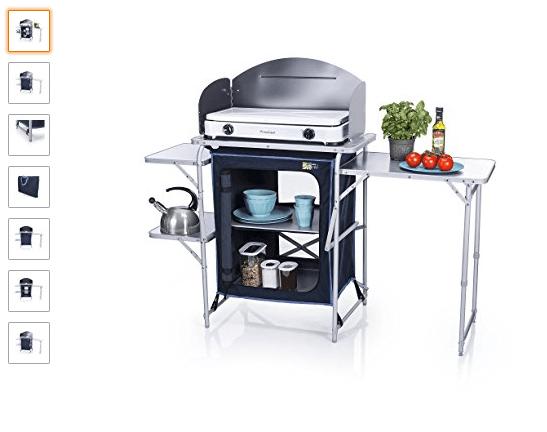 Mueble de Cocina para Camping - ¡Mira todo lo que hay!