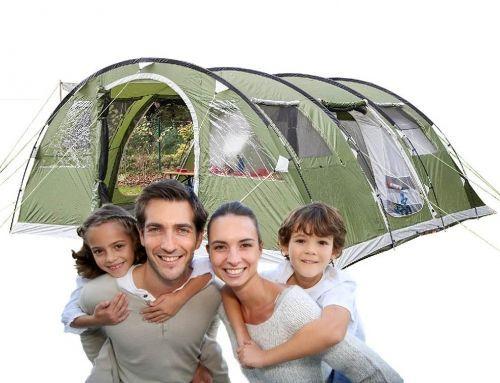 Tiendas de campaña familiares o para grupos